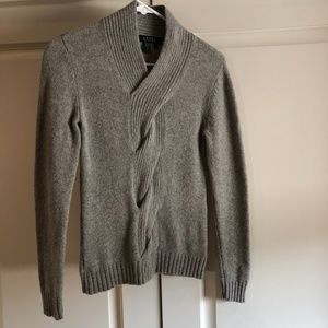 Gray Ralph Lauren Sweater
